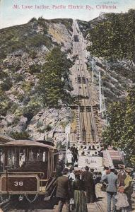 CALIFORNIA, 1900-1910's; Mt. Lowe Incline, Pacific Electric Railway