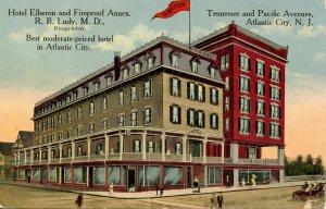 NJ - Atlantic City. Hotel Elberon & Fireproof Annex