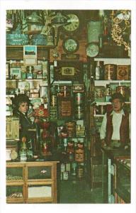REDWOOD VALLEY, California; Bargain Lane Interior, 40-60s