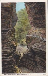 New York Watkins Glen Whirlwind Gorge Curteich