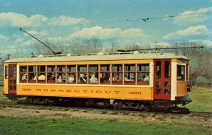 Trolley - Connecticut Electric Railway Museum. Car #3001, Torrington-Winsted ...