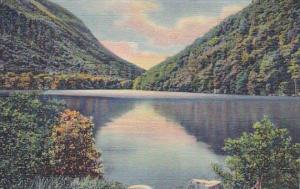 New Hampshire Franconia Notch Profile Lake