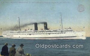 Ss Yale And SS Harvard, San Francisco, California, CA USA Steam Ship Postcard...