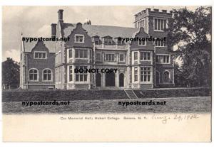 Cox Memorial Hall, Hobart College, Geneva NY