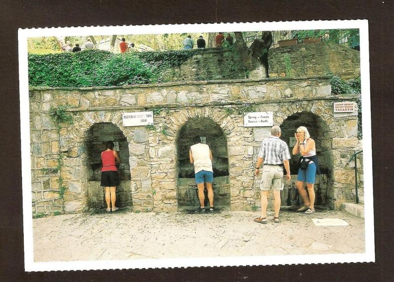 TURKEY -LARGE POSTCARD -THE HOUSE OF VIRGIN MARY-