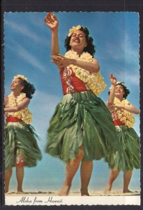 Greetings From Hawaii Hula Dancers BIN