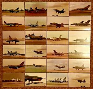 24 Limited Edition Postcards Aviation Military RAF Bombers Fighters Helicopters