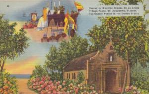 Florida St Augustine Ancient Spanish Shrine Of Nuestra Senora de la Leche