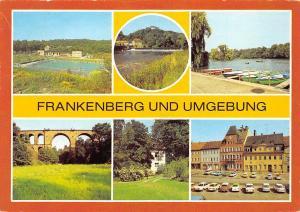 Frankenberg und Umgebung Eisenbahnbruecke im Leutzeltal Bridge Auto Cars