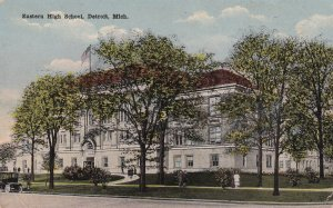 DETROIT, Michigan, 1900-1910's; Eastern High School