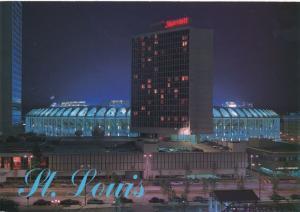 Busch Baseball Stadium - St Louis MO, Missouri - Night View