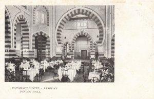 Cataract Hotel , ASSOUAN , Egypt , 1901-07 ; Dining hall