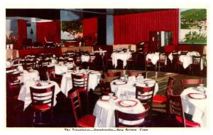 Connecticut  New Britain ,The Travelogue Restaurant , Dining Room