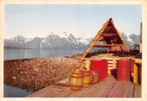 Norge Lyngen Fiskehjeli Norway Unused