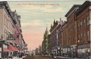 RICHMOND , Indiana, 00-10s ; Main Street , East from 7th Street