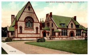New York   Auburn , Theological Seminiary, WIllard Memorial Chapel and Welch ...