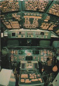 Space Shuttle Orbiter Cockpit Kennedy Space Center Florida