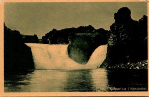 Iceland Hjalpsrfoss i pjorsardal