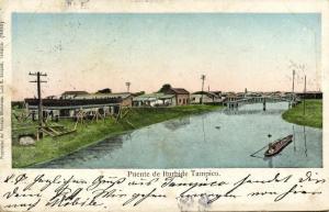 mexico, TAMPICO, Puente de Iturbide (1908)
