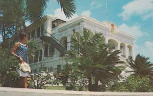 Government House, St. Croix, U.S. Virgin Islands, Antilles, 40-60s