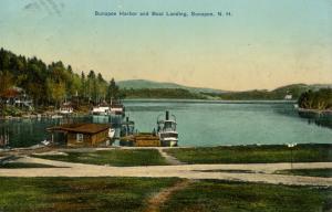 NH - Lake Sunapee. Sunapee Harbor and Boat Landing