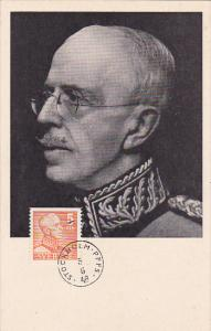 His Majesty King of Sweden, PU-1948