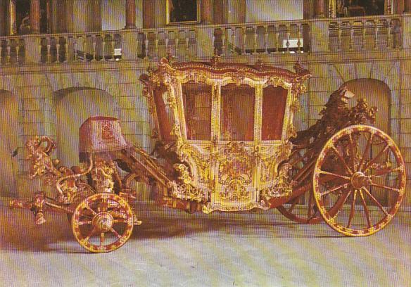 Portugal Lisboa King Joseph I's Coach XVIIIth Century National Museum