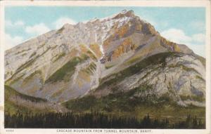 Canada Banff Cascade Mountain From Tunnel Mountain 1919