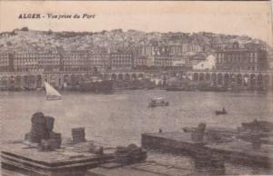 Algeria Alger Vue prise du Port