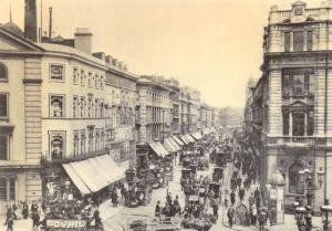London Postcard, New Oxford Street, Camden 1903 Reproduction Card T11
