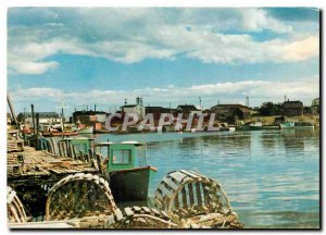Postcard Modern Glace Bay Harbor Cape Breton NS