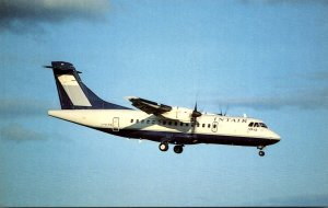 INTAIR Canada Aerosspatiale/Aeritalia ATR 42-300 At Dorval Airport Montreal