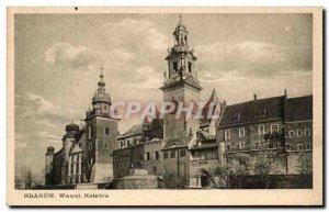 Poland - Poland - Poland - Krakow - Wawel Katedra - Old Postcard