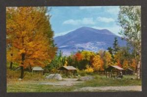 ME Mt Katahdin Camp Site Campground Camping BAXTER STATE Park MAINE Postcard