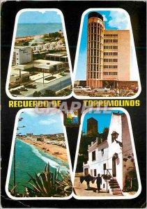 Postcard Modern Vista general Torremolinos Hotel Pez Espana