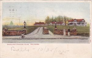 Maryland Country Club Balimore Maryland 1905