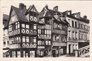 France Lisieux Vieilles Maisons de la Place de Halle-au-Burie 1950 Photo