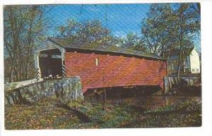 View of Old Covered Bridge, The Penna, Dutch Coutry Lancaster,  Pennsylvani...