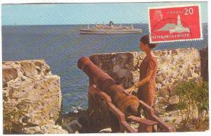 Fort Amsterdam, Great Bay and Philipsburg, St. Maarten, Netherlands Antilles, PU