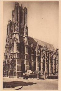 France Reims La Cathedrale Facade Sud Ouest