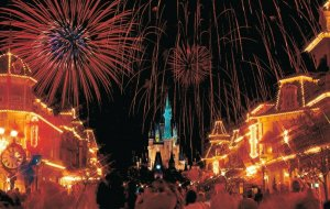 Walt Disney World Fantasy In The Sky Fireworks 04.12