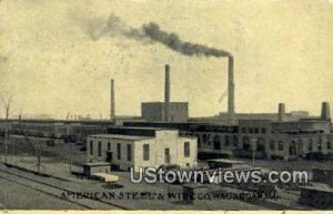 Am Steel & Wire Co - Waukegan, Illinois IL