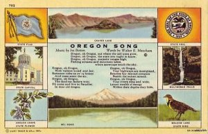 OREGON SONG BY BOTTEN & MEACHAM CRATER LAKE CAPITOL