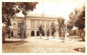 H86/ Las Vegas Nevada RPPC Postcard c1940s Clark County Court House 198