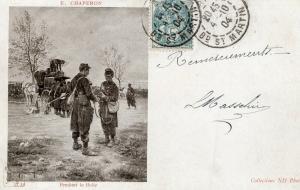 Military WW1 Pendant la Halle 01.37