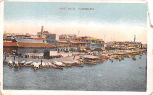 Port Said Egypt, Egypte, Africa Panorama Port Said Panorama