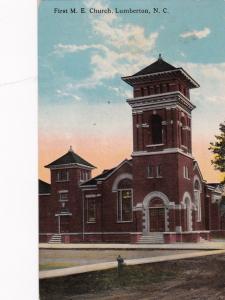 LUMBERTON, North Carolina , 00-10s; First M.E. Church