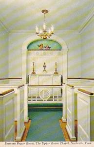 Tennessee Nashville Emmons Prayer Room The Upper Room Chapel