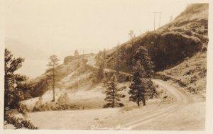 RP: OLIVER, British Columbia, Canada, 1910-30s; Road