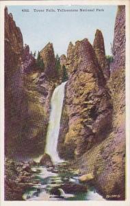Wyoming Yellowsatone National Park Tower Falls